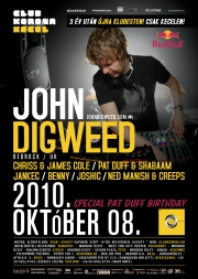 John Digweed flyer