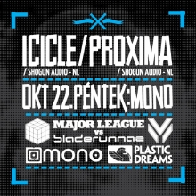 Bladerunnaz & Major League pres. Icicle & Proxima flyer