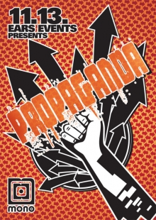 Ears Events: Propaganda flyer