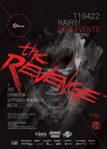 Hairy & ODD Events pres: The Revenge flyer