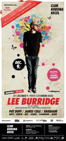 Lee Burridge flyer
