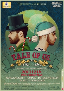 Pre-Christmas w/ TALE OF US flyer